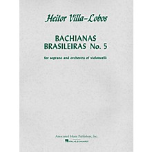 Associated Bachianas Brasileiras No. 5 (Score and Parts) String Ensemble Series  by Heitor Villa-Lobos