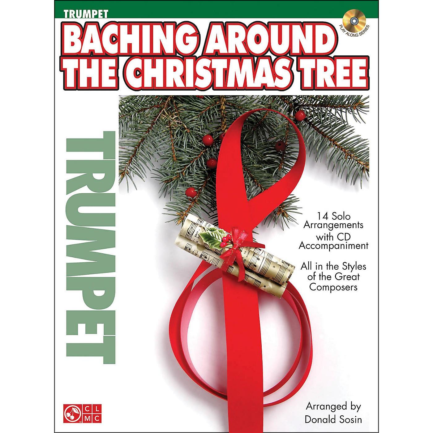Cherry Lane Baching Around The Christmas Tree (Trumpet) Book/CD thumbnail