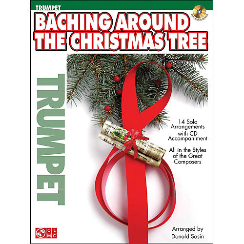 Cherry Lane Baching Around The Christmas Tree (Trumpet) Book/CD thumbnail