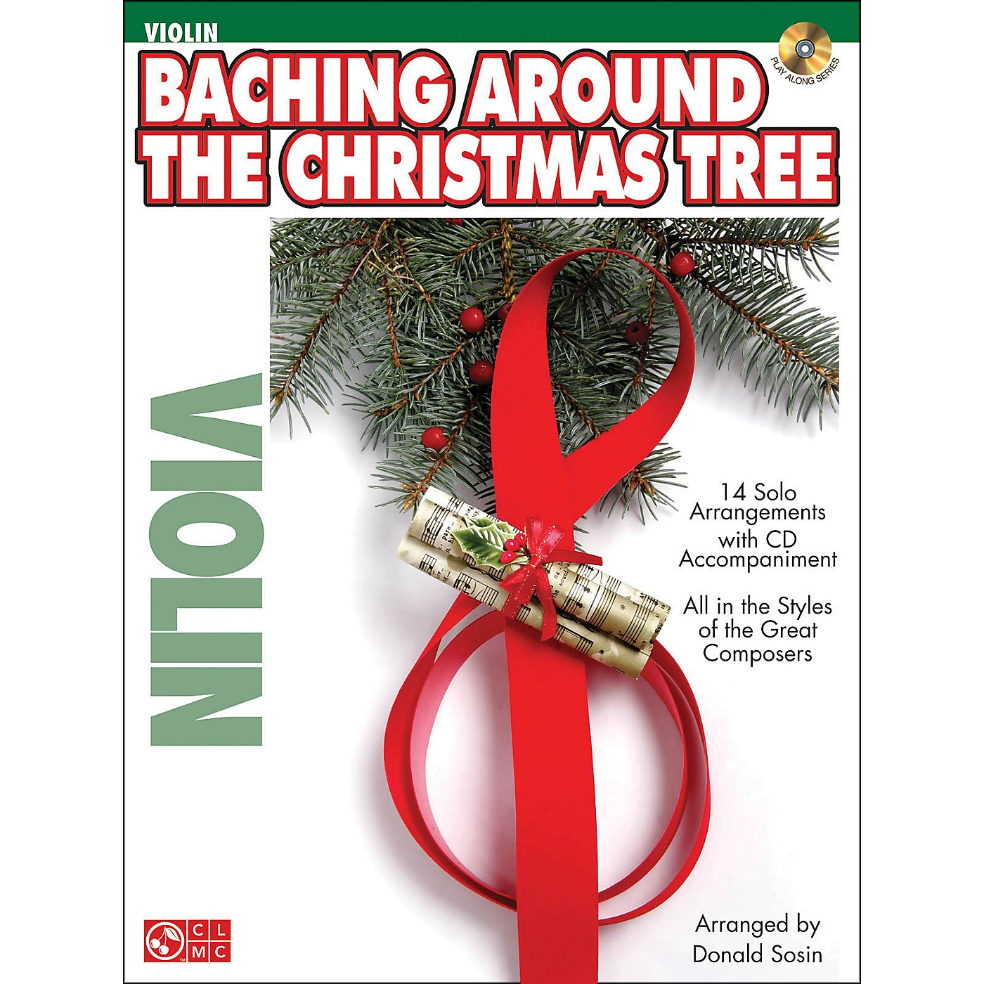 Cherry Lane Baching Around The Christmas Tree (Violin) Book/CD thumbnail