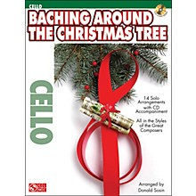 Cherry Lane Baching Around The Christmas Tree for Cello Book/CD