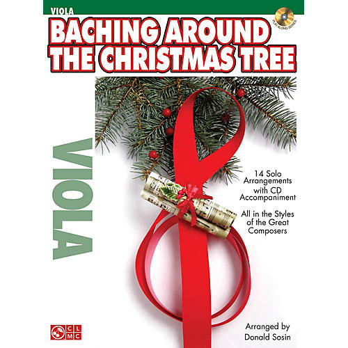 Cherry Lane Baching Around the Christmas Tree Instrumental Play-Along Series Softcover with CD thumbnail