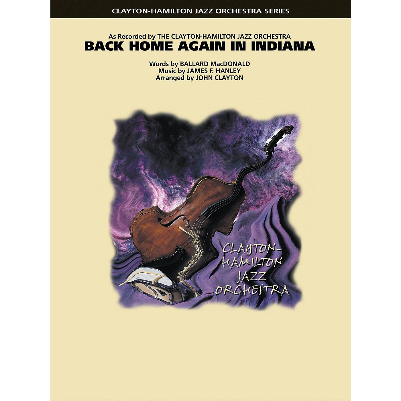 Hal Leonard Back Home Again in Indiana Jazz Band Level 5 Arranged by John Clayton thumbnail