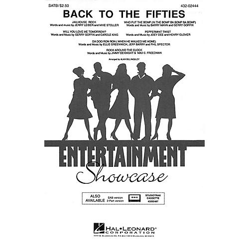 Hal Leonard Back to the Fifties (Medley) 2-Part Arranged by Alan Billingsley thumbnail