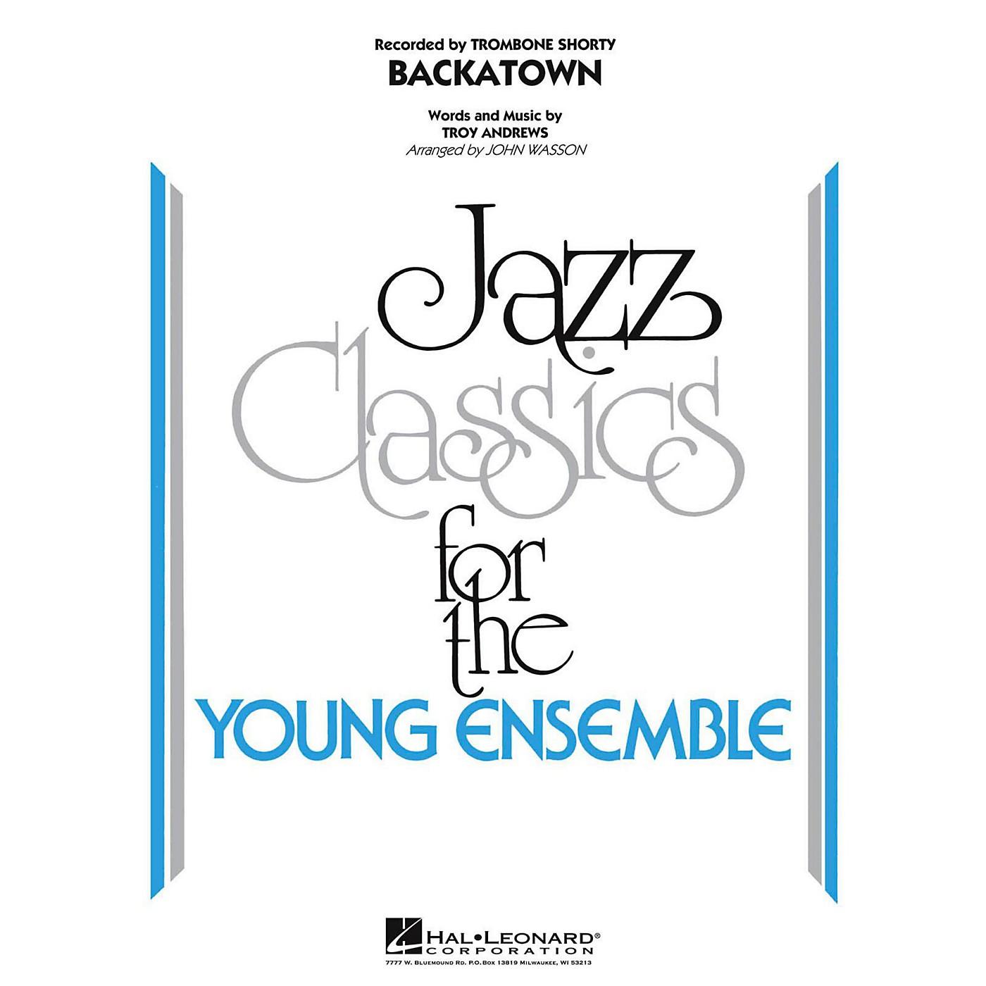 Hal Leonard Backatown Jazz Band Level 3 thumbnail