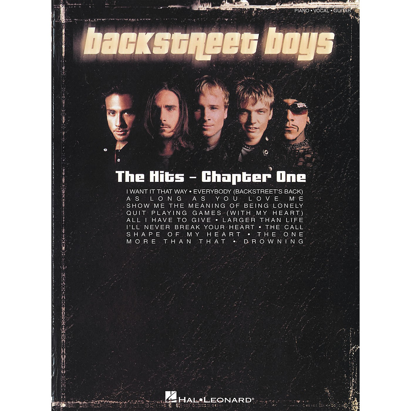 Hal Leonard Backstreet Boys - The Hits Chapter One Piano, Vocal, Guitar Songbook thumbnail