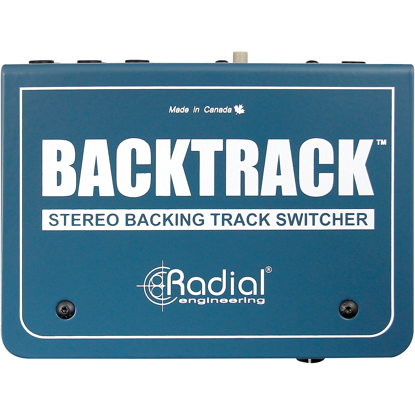 Radial Engineering Backtrack, Stereo Audio Switcher thumbnail
