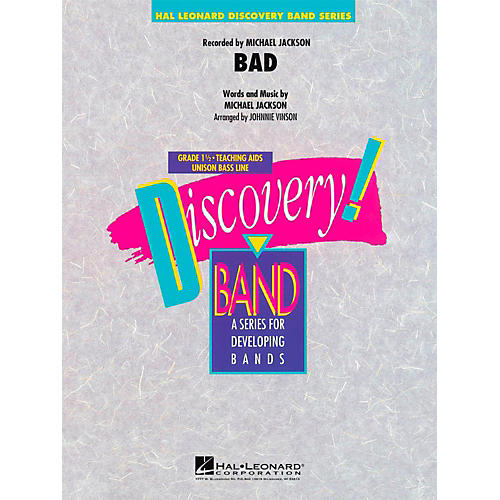 Hal Leonard Bad - Discovery Concert Band Level 1-thumbnail