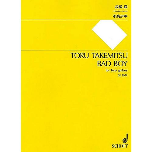 Schott Japan Bad Boy (for 2 Guitars - Performance Score) Composed by Toru Takemitsu thumbnail