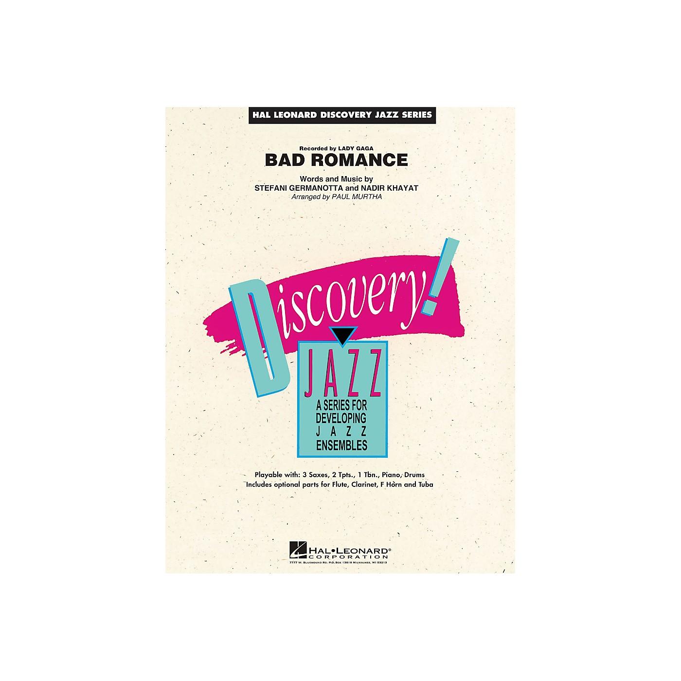 Hal Leonard Bad Romance - Discovery Jazz Series Level 1.5 thumbnail