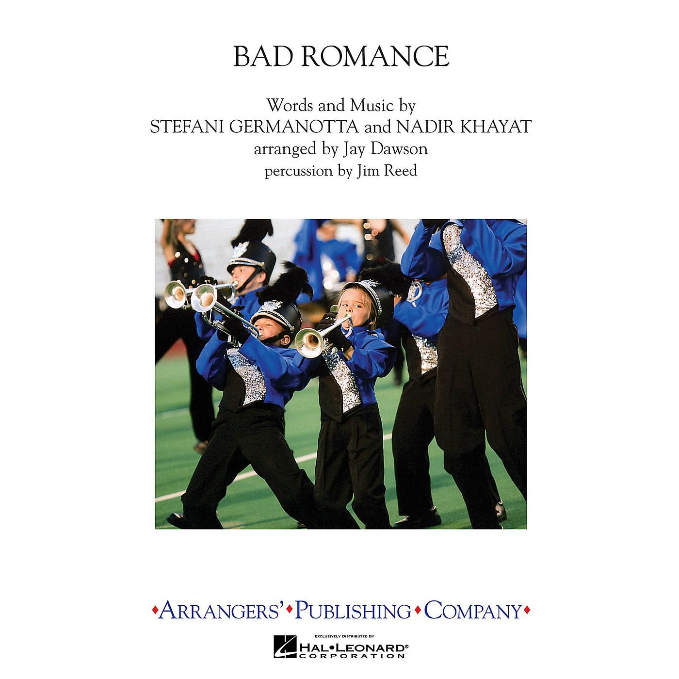 Arrangers Bad Romance Marching Band by Lady Gaga Arranged by Jay Dawson thumbnail