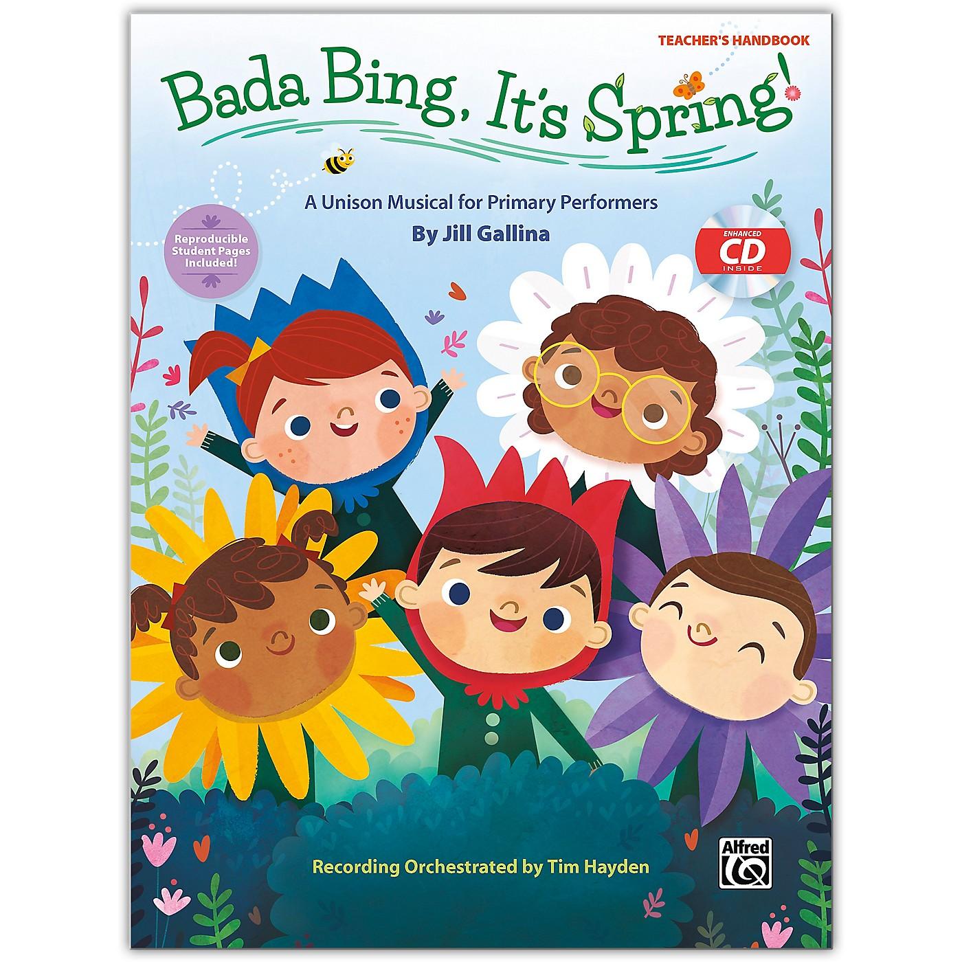 Alfred Bada Bing, It's Spring! CD Kit (Book & Enhanced CD) Grades K--4 thumbnail