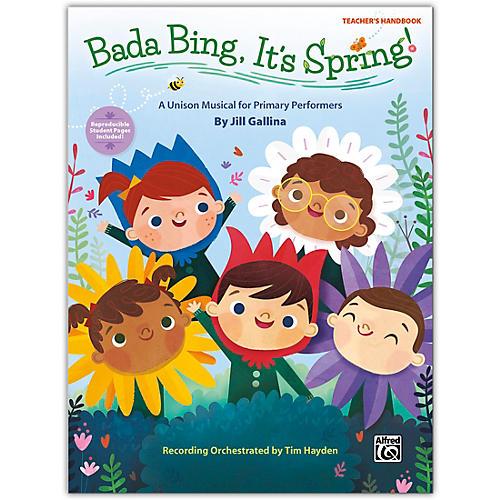 Alfred Bada Bing, It's Spring! Teacher's Handbook Grades K--4 thumbnail