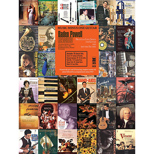 Music Minus One Baden Powell Revisited Music Minus One Series Softcover with CD thumbnail
