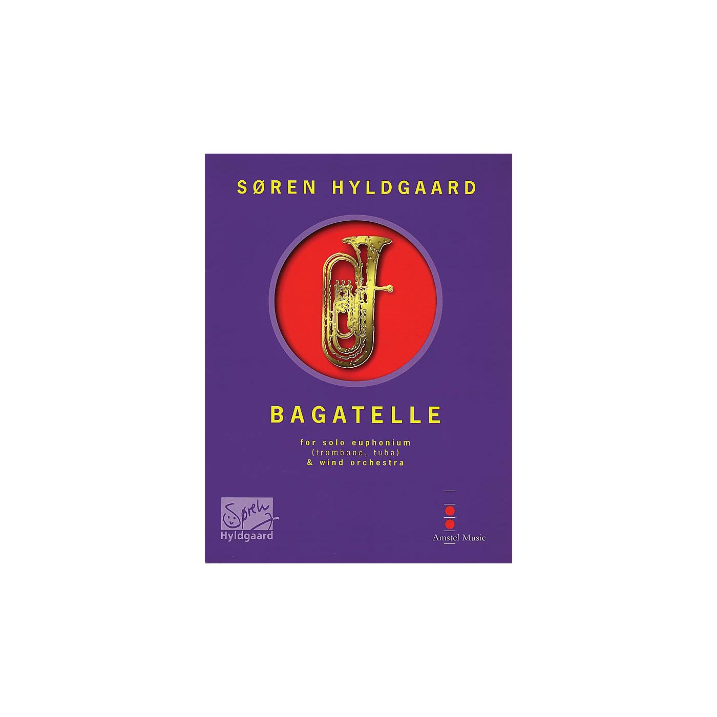 De Haske Music Bagatelle (for Euphonium & Wind Orchestra) (Score Only) Concert Band Composed by Soren Hyldgaard thumbnail