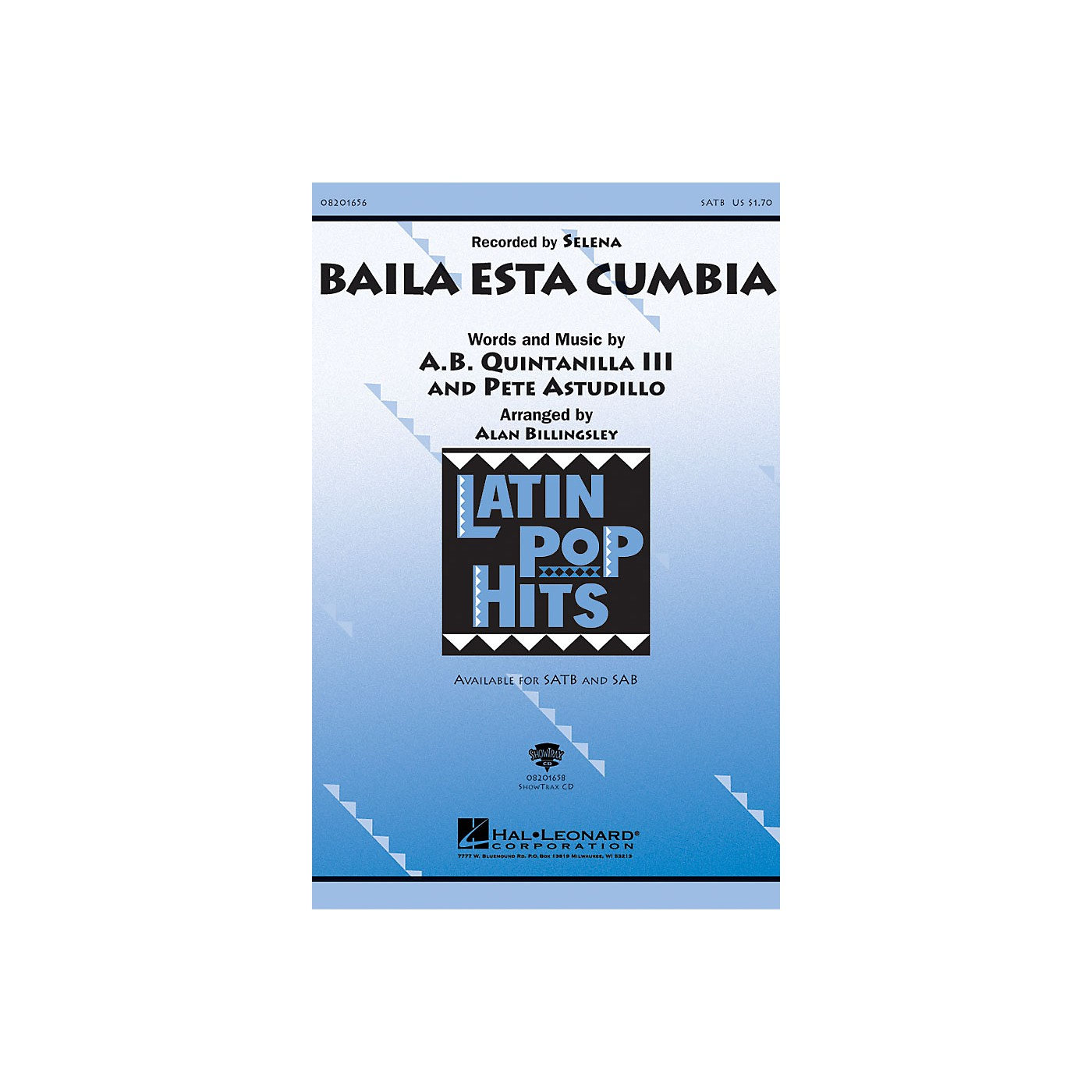 Hal Leonard Baila Esta Cumbia ShowTrax CD Arranged by Alan Billingsley thumbnail