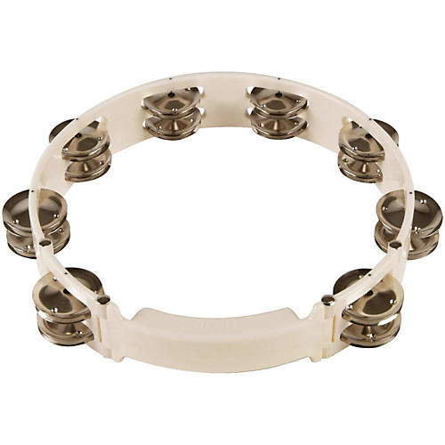 Sound Percussion Labs Baja Percussion Shape Shifter Tambourine with Double Row Steel Jingles thumbnail