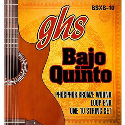 GHS Bajo Quinto 10-String Phosphor Bronze Acoustic Guitar Strings thumbnail