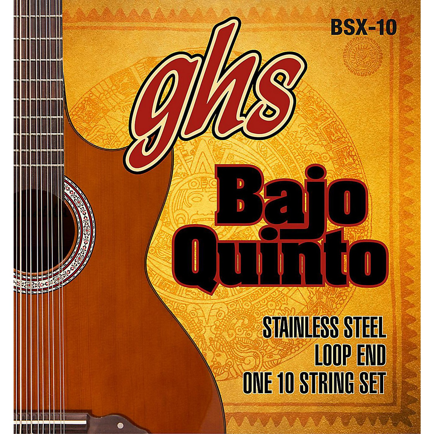 GHS Bajo Sexto 10-String Guitar Strings Set thumbnail