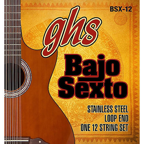 GHS Bajo Sexto 12-String Guitar String Set thumbnail