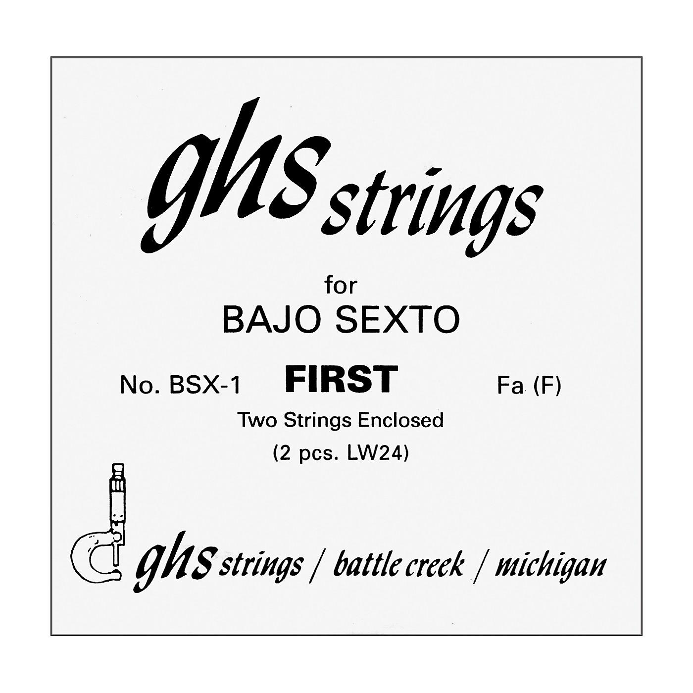 GHS Bajo Sexto First Pair Guitar Strings thumbnail