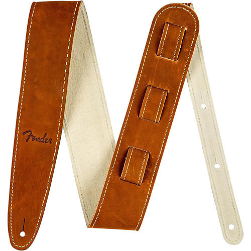 Fender Ball Glove Leather Guitar Strap thumbnail