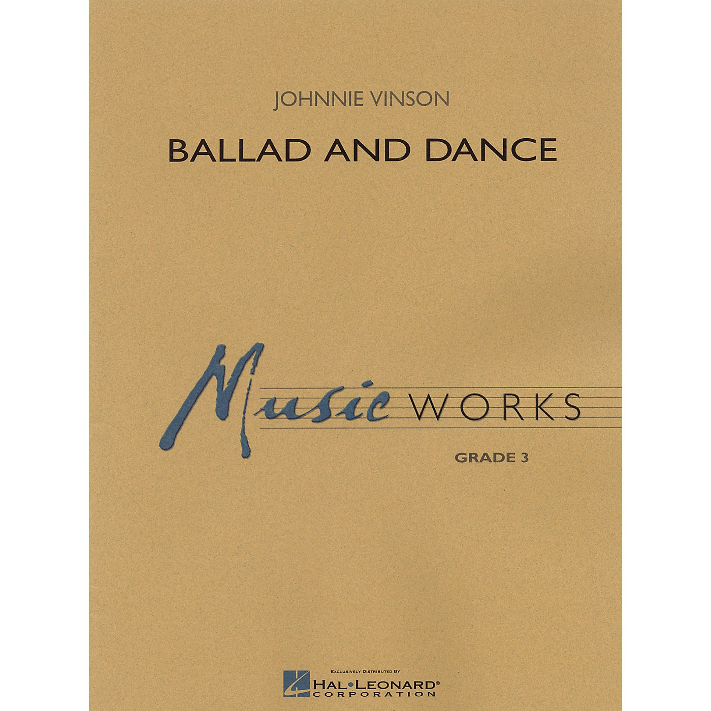Hal Leonard Ballad and Dance Concert Band Level 3 Composed by Johnnie Vinson thumbnail