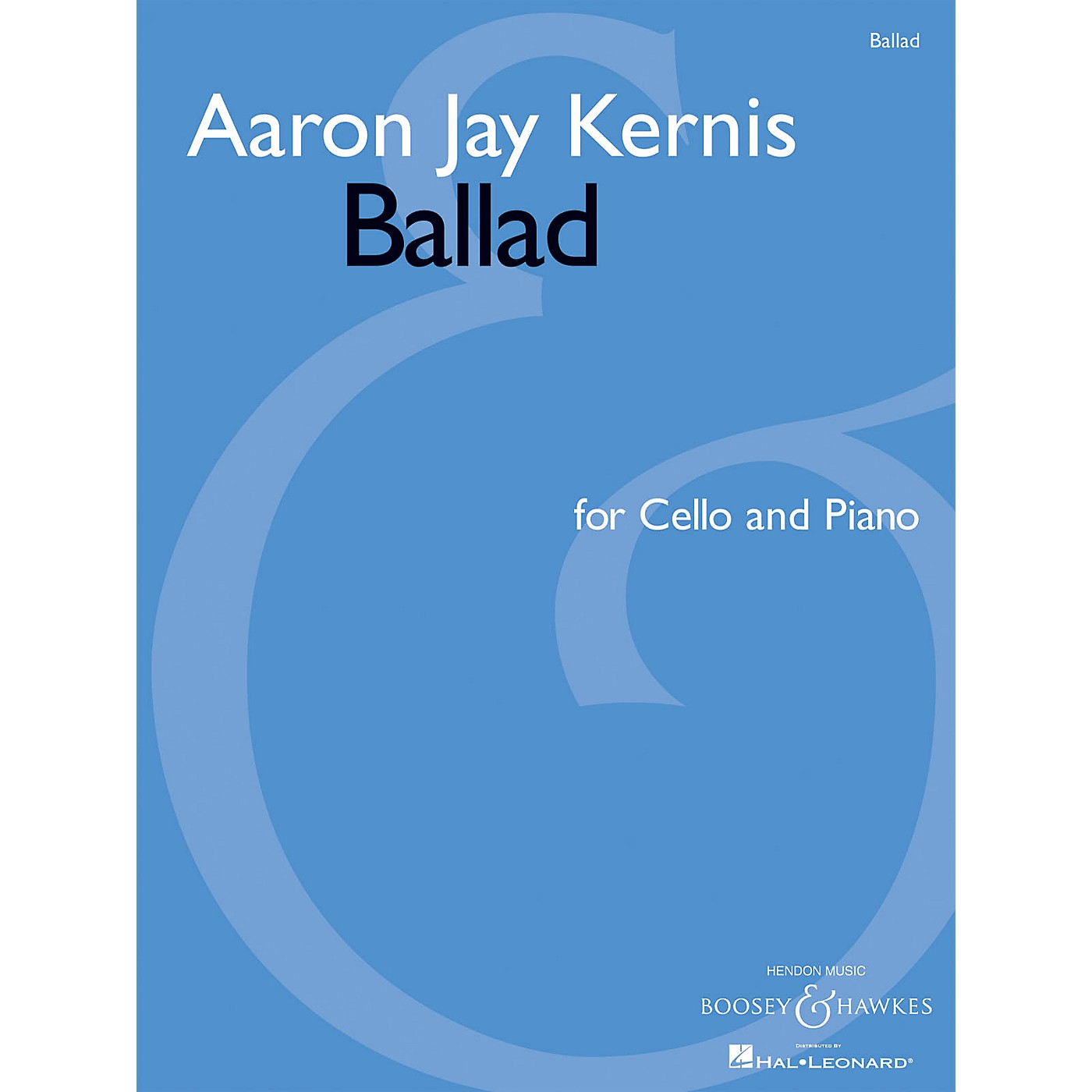 Associated Ballad (for Cello and Piano) String Series Softcover thumbnail