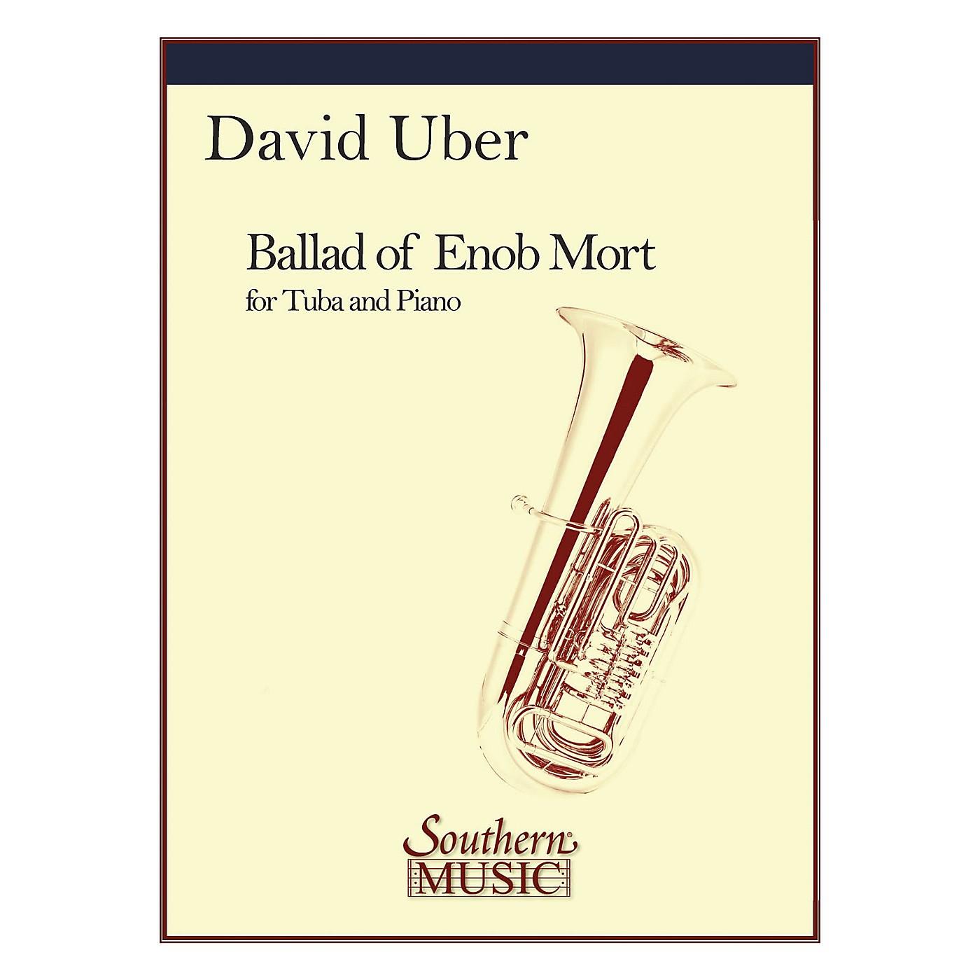 Southern Ballad of Enob Mort (Tuba) Southern Music Series Composed by David Uber thumbnail