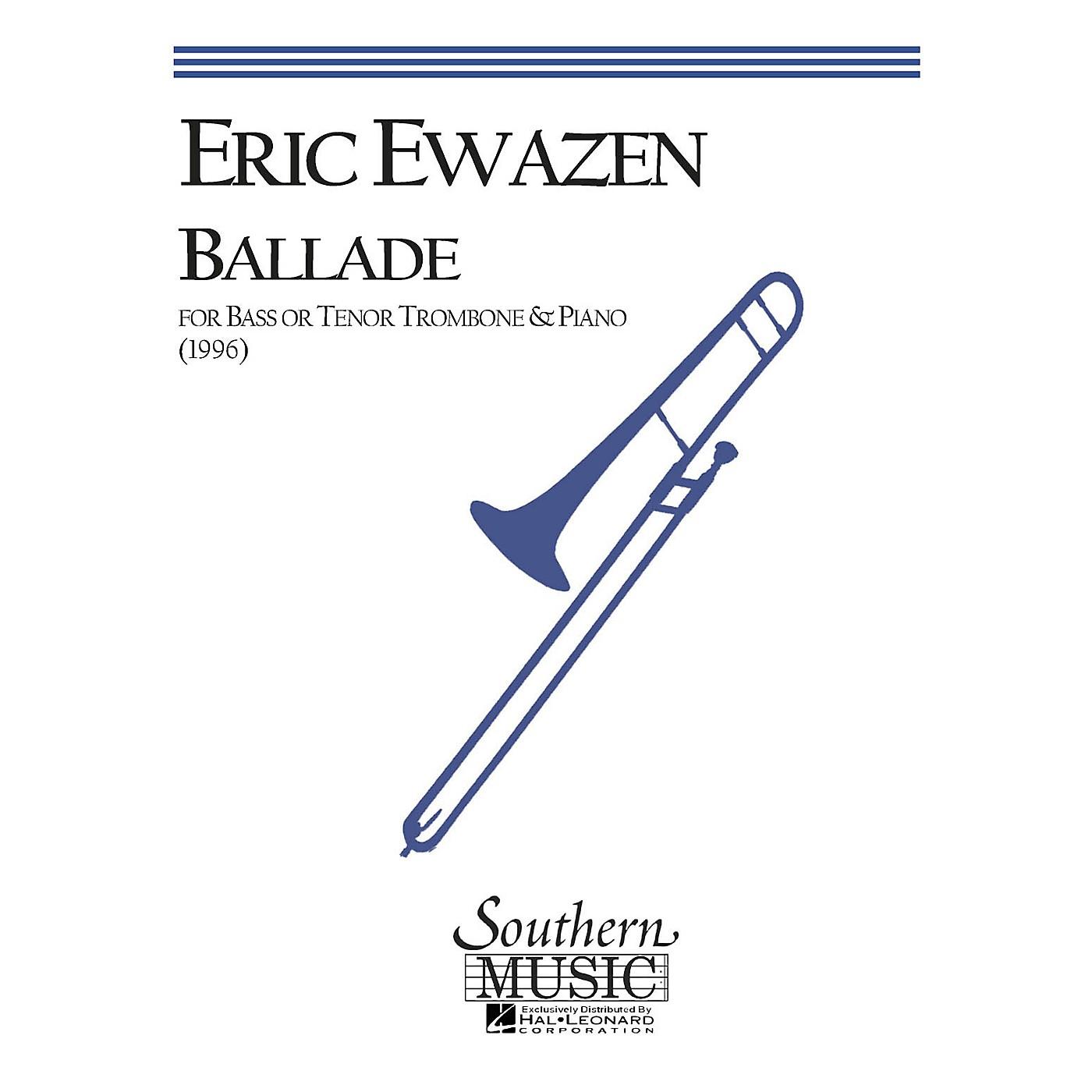Southern Ballade (Bass Trombone) Southern Music Series Composed by Eric Ewazen thumbnail