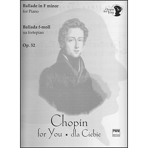 Carl Fischer Ballade in F Minor OP.52 Book thumbnail