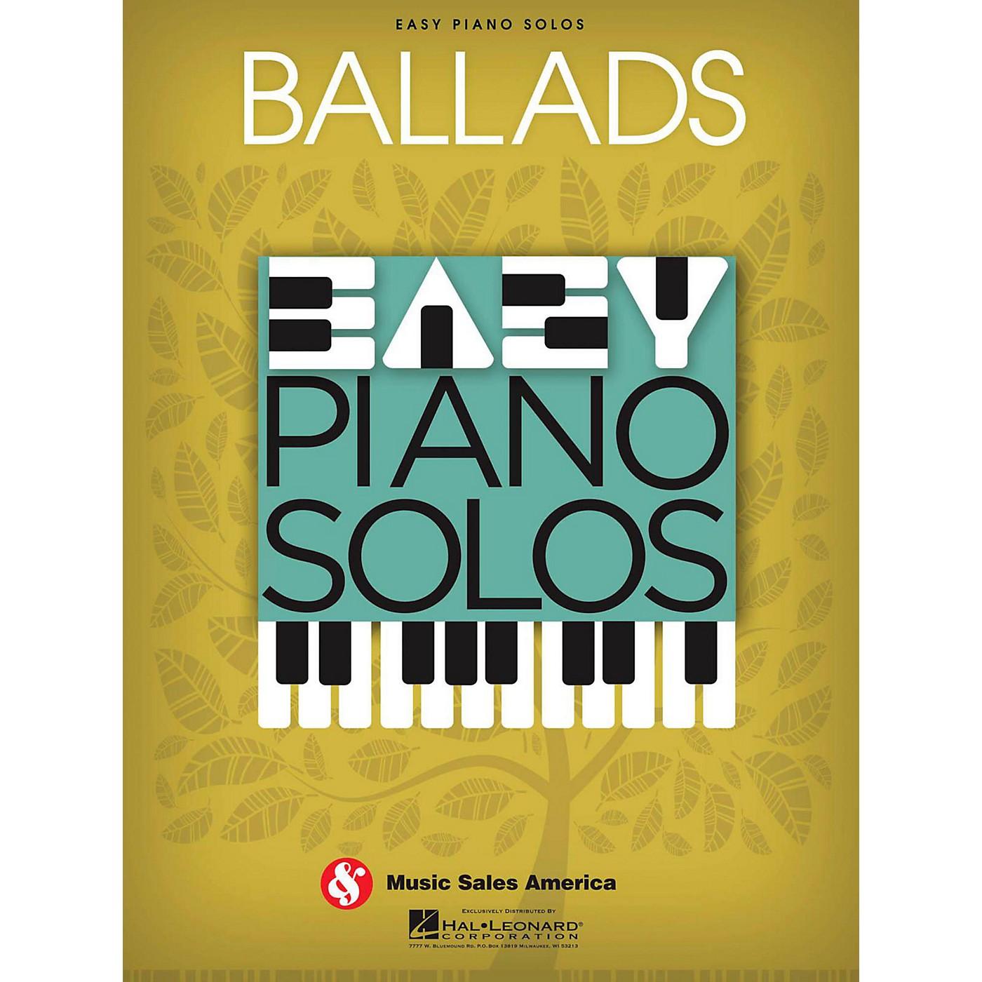 Music Sales Ballads  Easy Piano Solos thumbnail