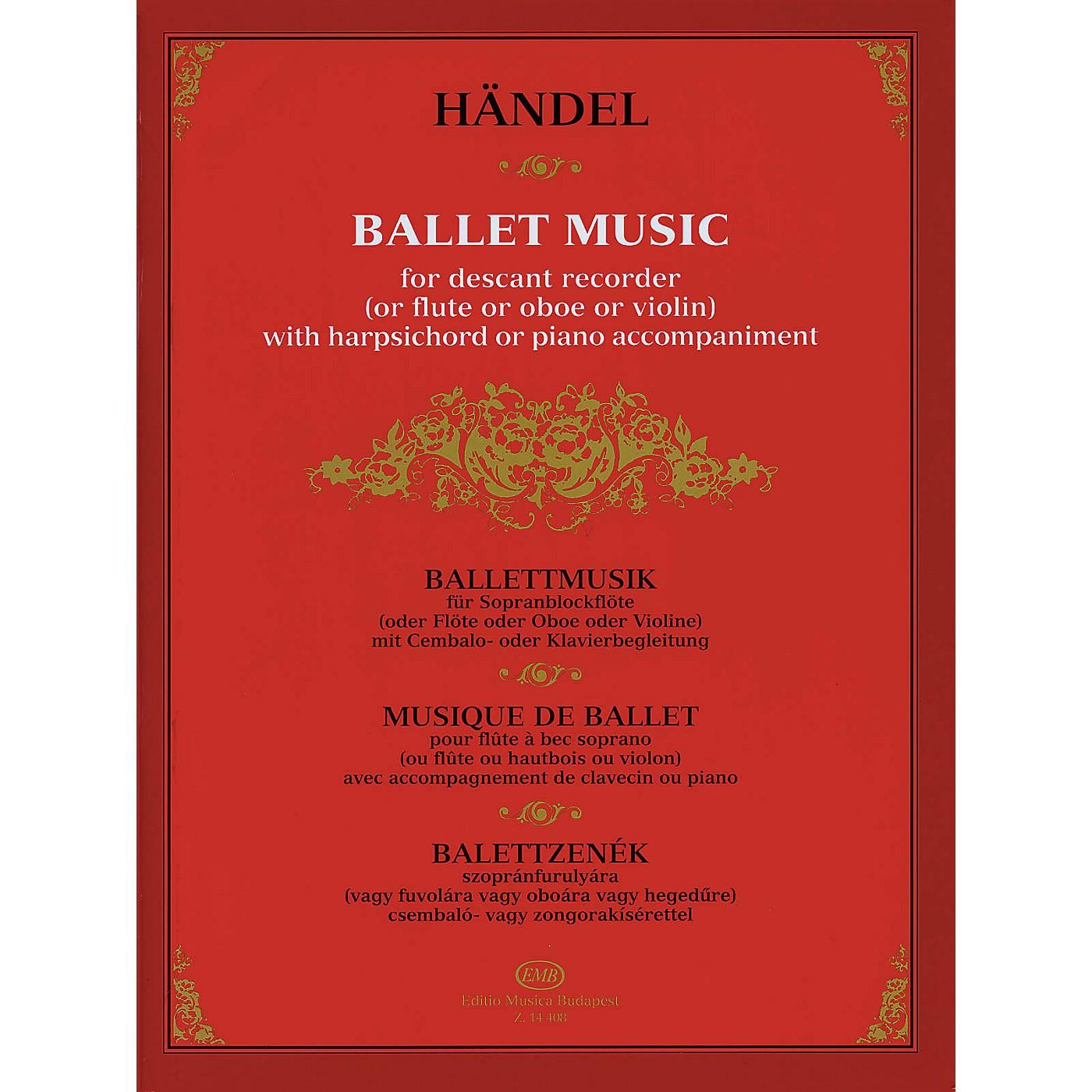 Editio Musica Budapest Ballet Music EMB Series thumbnail