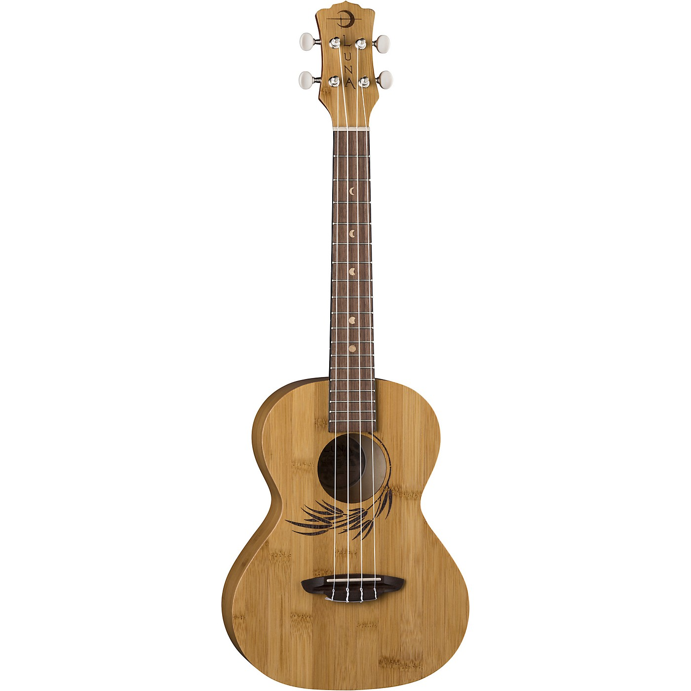 Luna Guitars Bamboo Tenor Ukulele thumbnail