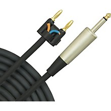 """Musician's Gear Banana to 1/4"""" Speaker Cable"""