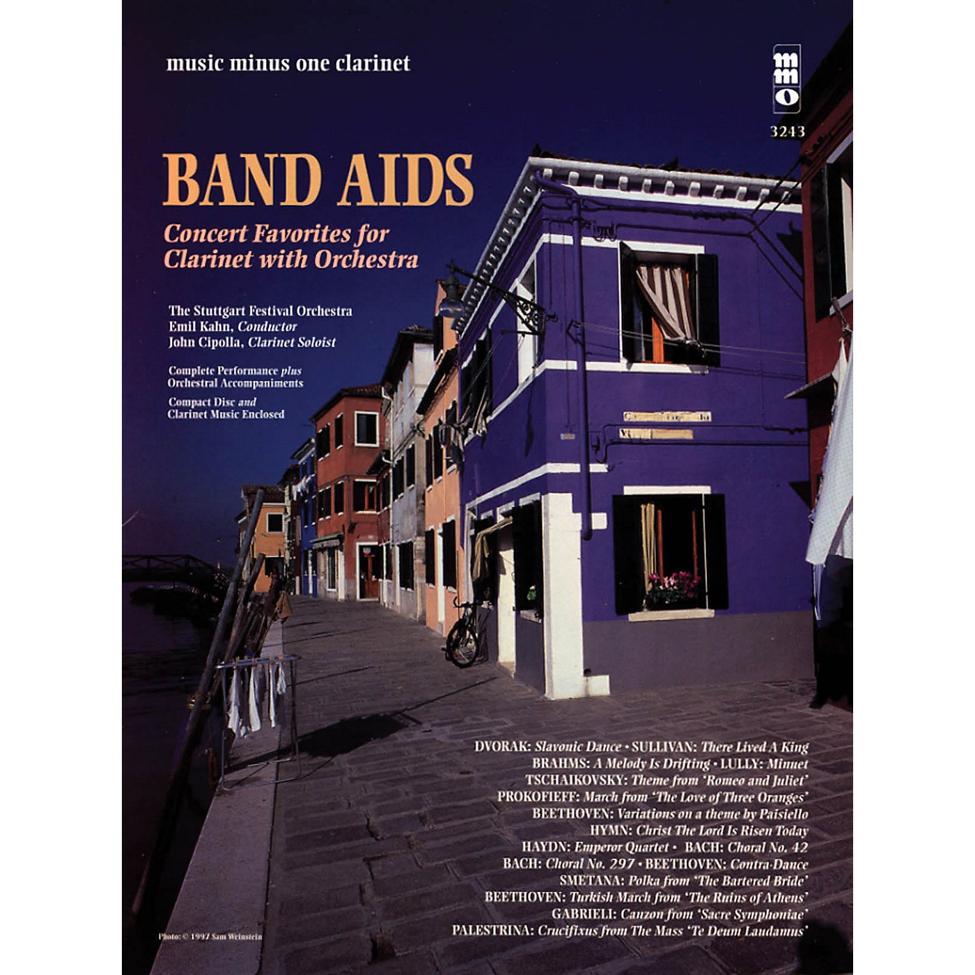 Music Minus One Band Aids - Concert Band Favorites with Orchestra Music Minus One Series BK/CD thumbnail