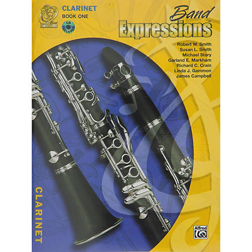 Alfred Band Expressions Book One Student Edition Clarinet Book & CD thumbnail