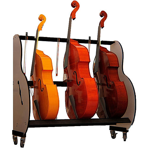 A&S Crafted Products Band Room Double Bass Rack thumbnail