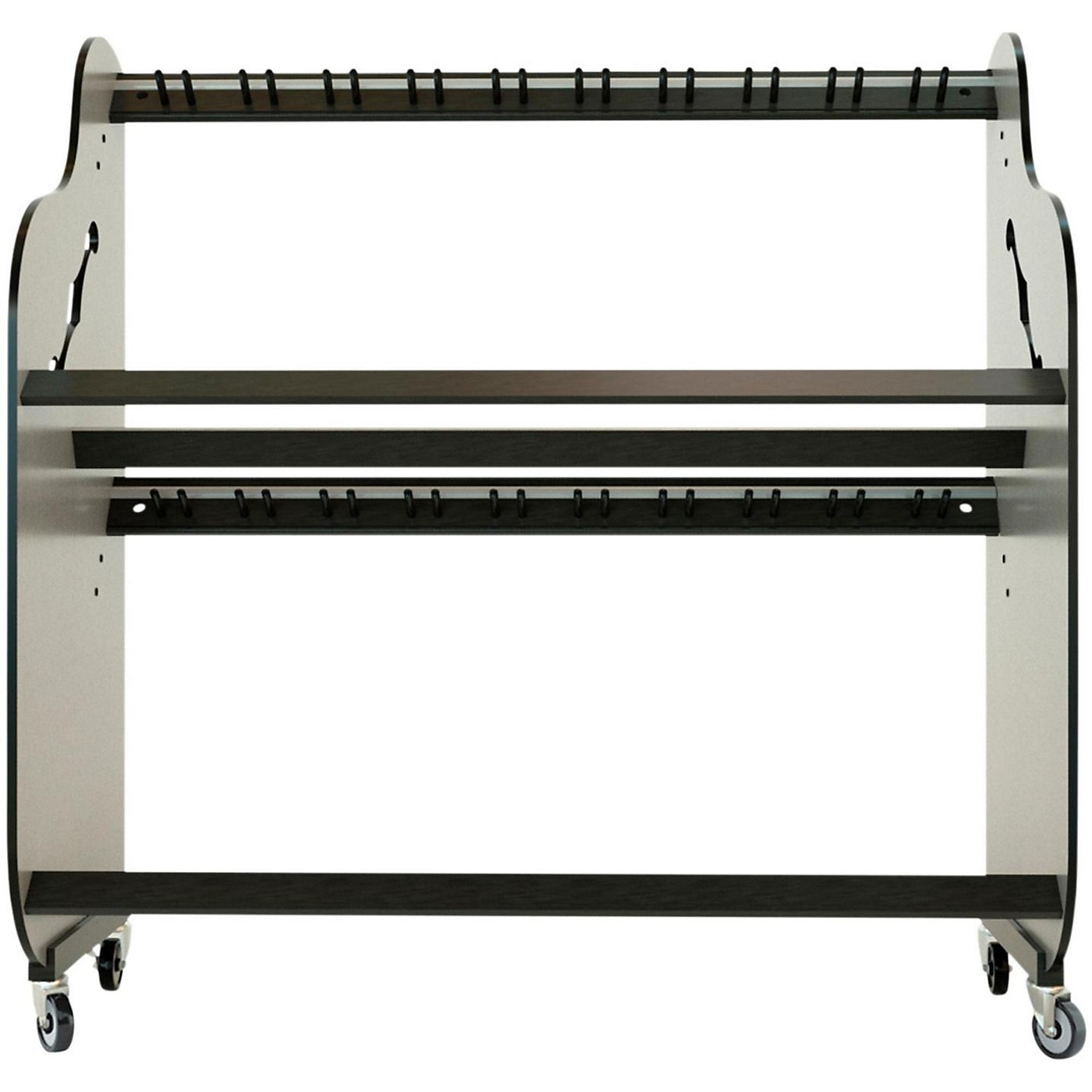 A&S Crafted Products Band Room Double-Stack Guitar Shelf Rack thumbnail