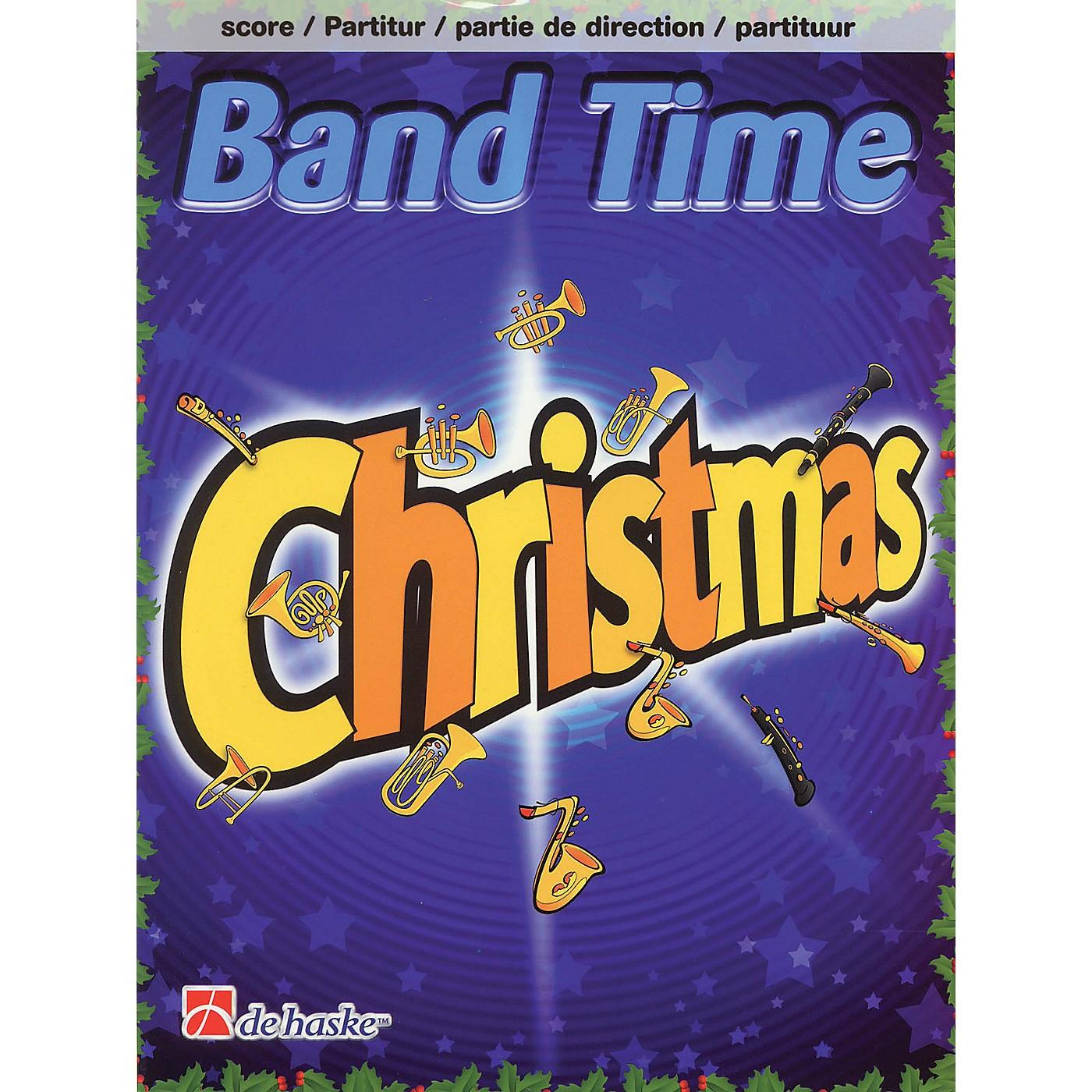 De Haske Music Band Time Christmas (Conductor Score) Concert Band Arranged by Robert van Beringen thumbnail