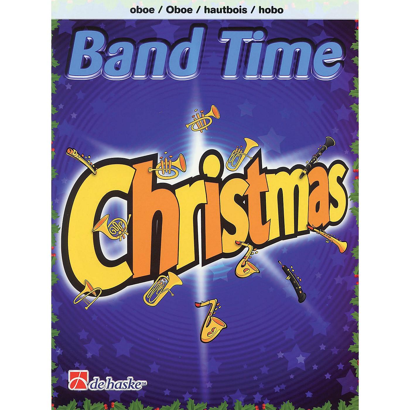 De Haske Music Band Time Christmas (Oboe) De Haske Play-Along Book Series Book Arranged by Robert van Beringen thumbnail