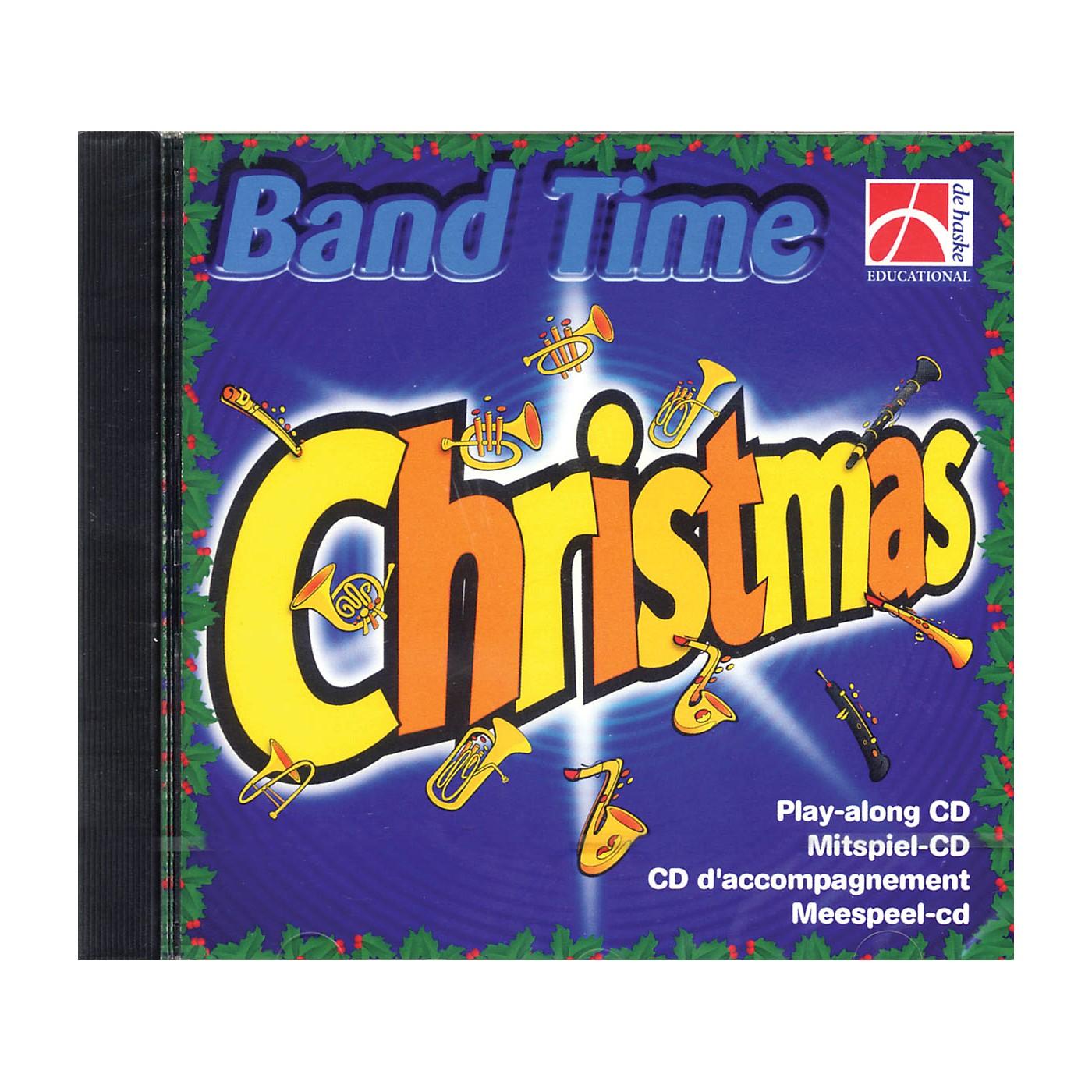 De Haske Music Band Time Christmas (Play-Along CD) Concert Band Arranged by Robert van Beringen thumbnail