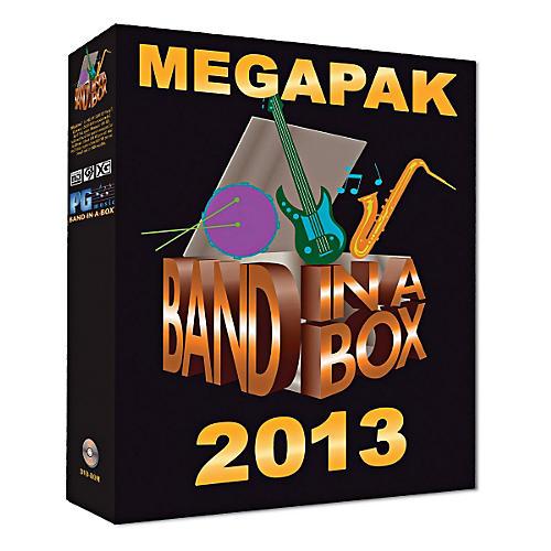 PG Music Band-in-a-Box 2013 MEGAPAK (Windows DVD-ROM)-thumbnail