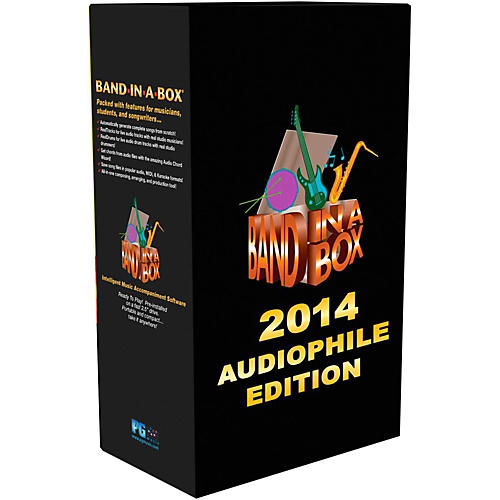 PG Music Band-in-a-Box 2014 Audiophile Edition (Win-Portable Hard Drive) thumbnail