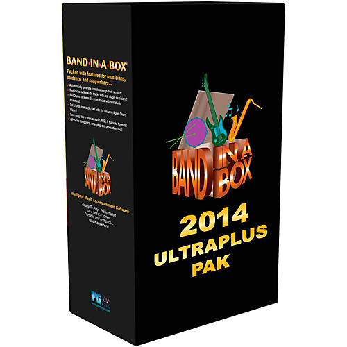 PG Music Band-in-a-Box 2014 UltraPlusPAK (Win-Portable Hard Drive) thumbnail