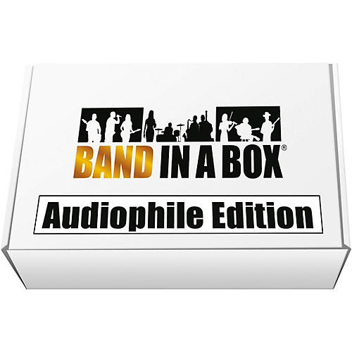 PG Music Band-in-a-Box 2019 Audiophile Edition [Win USB Hard Drive] thumbnail