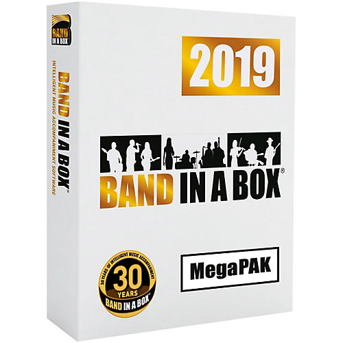 PG Music Band-in-a-Box 2019 MegaPAK [Win Download] thumbnail