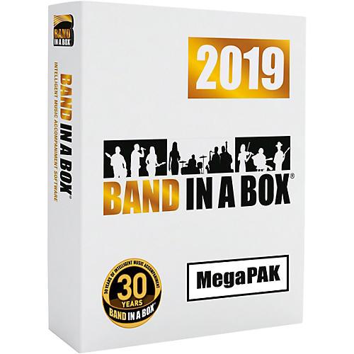PG Music Band-in-a-Box 2019 MegaPAK [Win USB Flash Drive] thumbnail