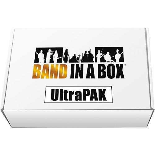 PG Music Band-in-a-Box 2019 UltraPAK [Win USB Hard Drive] thumbnail