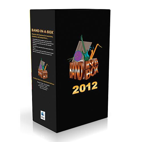 PG Music Band-in-a-Box Pro 2012 MAC EverythingPAK (Mac-Hard Drive)-thumbnail